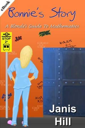 Cover - blonde in pyjamas looking at door in wall