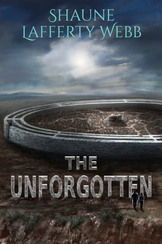 The cover of The Unforgotte, an alien kraal on a cold planet