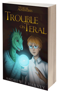 Trouble on Teral (The Portal Adventures) – signed paperback